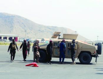 الهدوء يعم كابول.. وطالبان تحتفل باستقلال أفغانستان