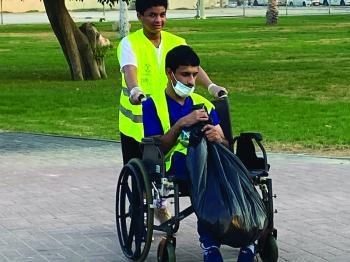 40 ألف متطوع رفعوا 500 طن نفايات من شواطئ ومتنزهات الشرقية