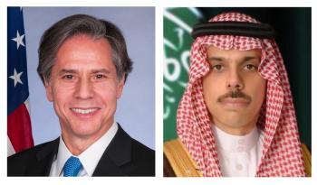وزير الخارجية يبحث العلاقات الاستراتيجية مع نظيره الأمريكي