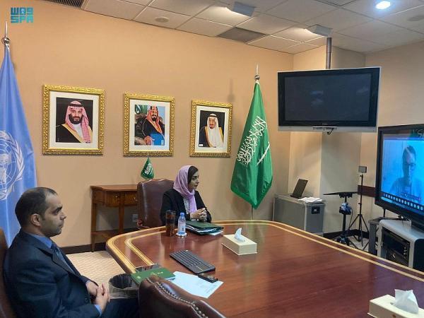 وفد المملكة لدى الأمم المتحدة يناقش استراتيجية مكافحة الإرهاب