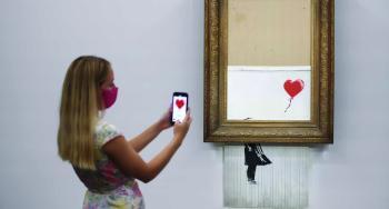 لوحة «مزقت نفسها» بـ 8.3 مليون دولار