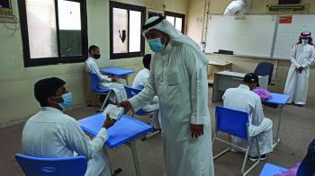 حافظة صحية لكل طالب بـ«ثانوية حراء»