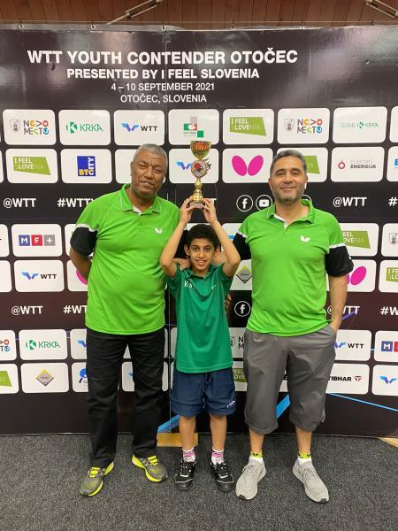 موهبة الطاولة السعودية عبدالرحمن الطاهر يحقق برونزية بطولة سلوفينيا الدولية