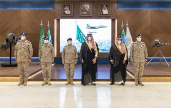 نائب وزير الدفاع يشيد بالجاهزية العالية للقوات الجوية