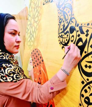 روهي خان تطلق «أرابيسك» بفنون الدمام