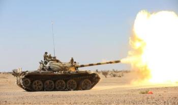 الجيش اليمني يسقط طائرة مفخخة حوثية على مواقعه بصعدة