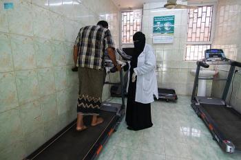في شهر.. مركز الملك سلمان للإغاثة يقدم 661 خدمة طبية بعدن