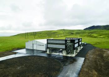 تشغيل أكبر آلة لامتصاص الكربون بالعالم