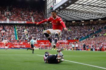رونالدو يسجل في بداية فترته الثانية مع مانشستر يونايتد