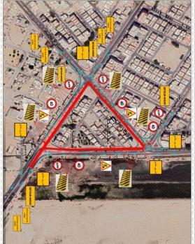 أمانة الشرقية : إغلاق جزئي لـ 3 تقاطعات ابتداء من غد الأحد