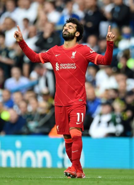 محمد صلاح يحرز هدفه الـ100 بالدوري الإنجليزي الممتاز