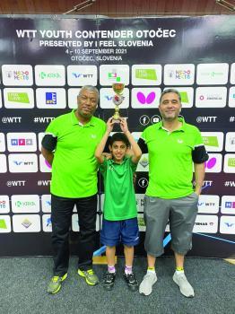 الطاهر يحقق برونزية بطولة سلوفينيا الدولية