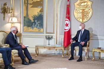 الرئيس التونس يرفض الضغوط الغربية لعودة برلمان الإخوان