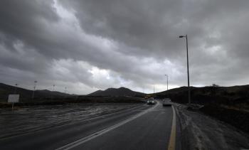الطقس.. أمطار رعدية ورياح على 4 مناطق