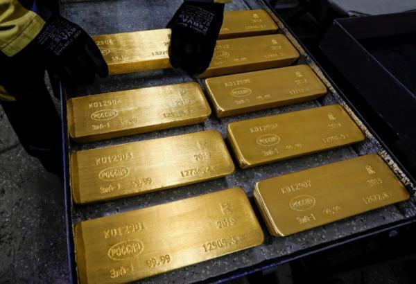 ارتفاع الذهب مع تراجع الدولار والسندات الأمريكية