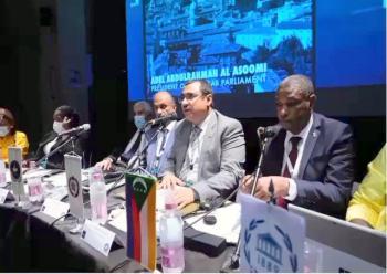 البرلمان العربي يُثّمّن دور المملكة الريادي في تعزيز الحوار بين الأديان