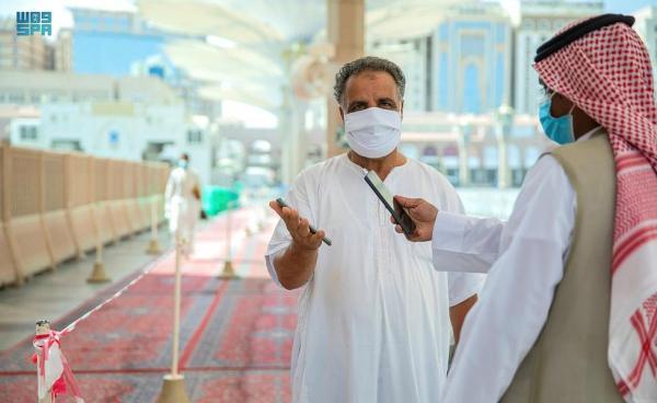 نقل نقاط الفرز إلى الساحة الجنوبية الغربية بالمسجد النبوي