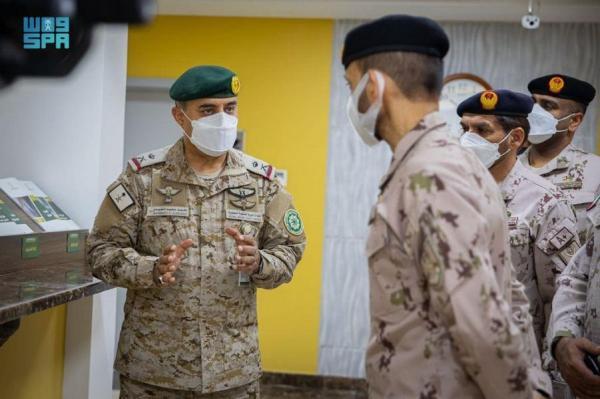 قائد القوات البرية الإماراتية يشيد بـ«التحالف الإسلامي» لمحاربة الإرهاب
