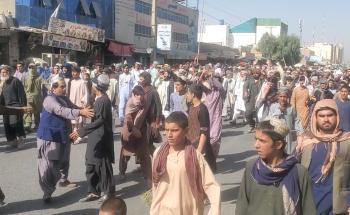 آلاف الأفغان يتظاهرون ضد طالبان في قندهار