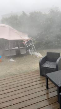 عواصف رعدية تقطع الطرق السريعة في فرنسا