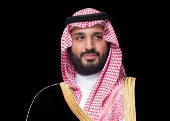 ولي العهد يتلقى رسالتين خطيتين من ولي عهد الكويت ونائب رئيس مجلس الوزراء الكويتي