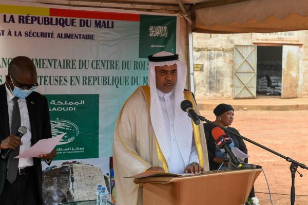 مركز الملك سلمان يوزع 250 سلة غذائية في بورغو ببنين