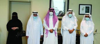 وفد خدمات «المتقاعدين» يزور مطار الملك فهد الدولي