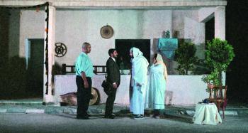 «صخب بلا صوت» على مسرح فنون الرياض