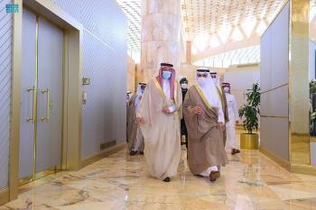 للمشاركة في أعمال الدورة الـ 149 .. «الخريجي»  يستقبل وزير خارجية الكويت
