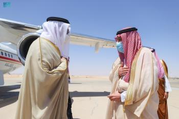 نائب وزير الخارجية يستقبل وزير خارجية البحرين