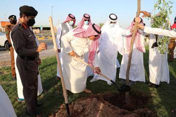 تدشين «حفر الباطن خضراء» لزيادة الغطاء النباتي