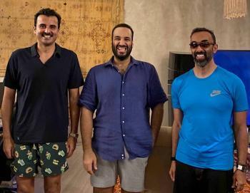 عاجل : شاهد.. صورة لولي العهد وأمير قطر والشيخ طحنون بن زايد في البحر الأحمر
