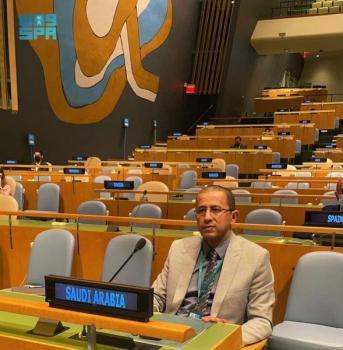 «العتيق» بالأمم المتحدة: المملكة تقوم بدور كبير في دعم النازحين