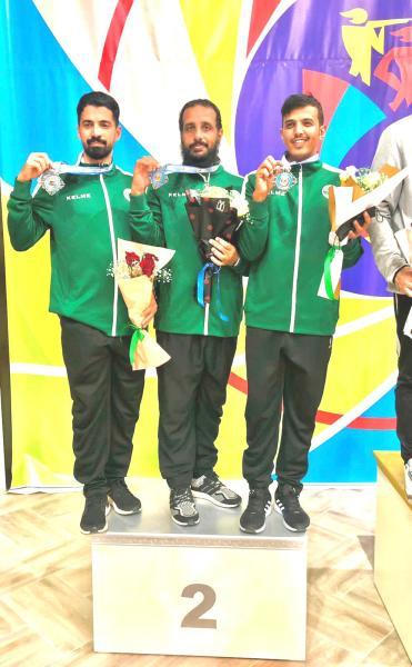 أخضر الرماية ينهي الآسيوية بـ3 ميداليات