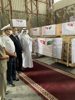 سفير المملكة لدى تونس يسلم المساعدات الطبية لمواجهة «كورونا»