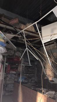 بلدية غرب الدمام تباشر حادث انهيار سقف بمغسلة ملابس