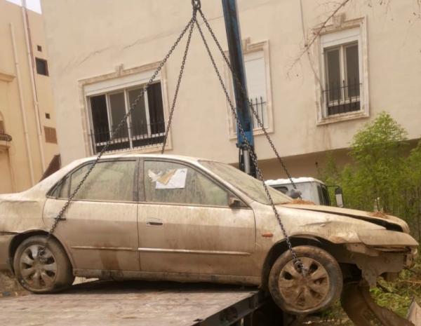 رفع 3562 سيارة تالفة من شوارع مكة