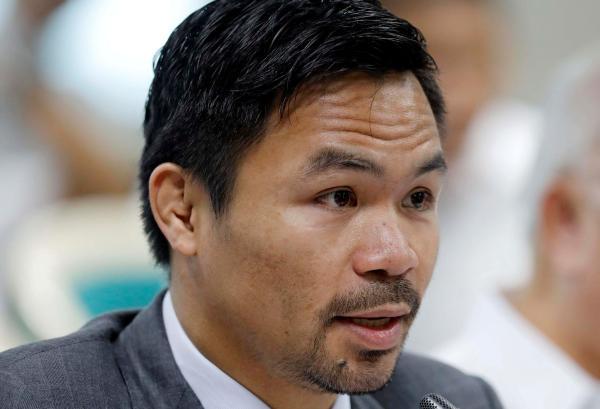 بطل الملاكمة باكياو يترشح لمنصب الرئيس الفلبيني