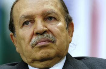 الرئاسة الجزائرية تعلن وفاة الرئيس السابق بوتفليقة