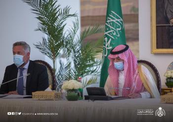 «الجبير» يستعرض أوجه التعاون بين المملكة والاتحاد الأوروبي