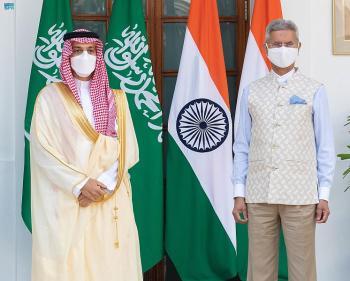 وزير الخارجية يبحث القضايا الإقليمية والدولية مع نظيره الهندي