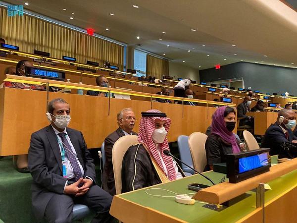 وزير الخارجية يترأس وفد المملكة في الأمم المتحدة