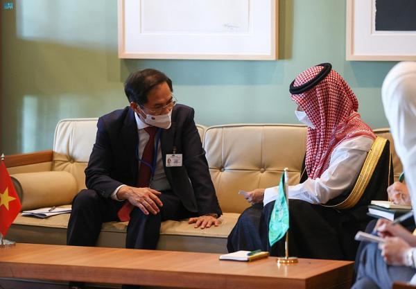 وزير الخارجية يبحث مع نظيره الفيتنامي العلاقات الثنائية