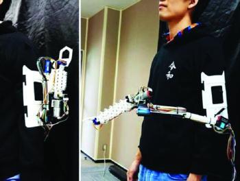 ذراع روبوتية لتسهيل العمل اليدوي مستقبلا