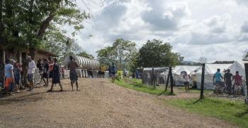 ارتفاع كبير في رحلات المهاجرين  بالغابات عبر «فجوة دارين»