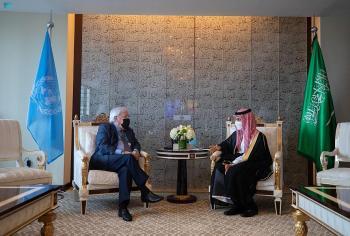 مباحثات سعودية أممية حول الأوضاع في أفغانستان