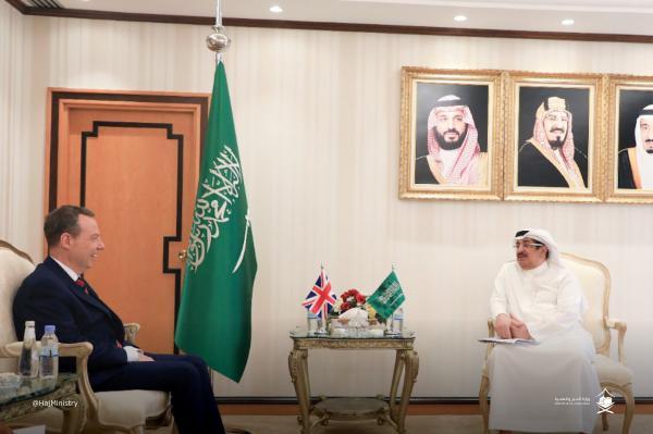 القنصل العام البريطاني يشيد بجهود المملكة في خدمة ضيوف الرحمن