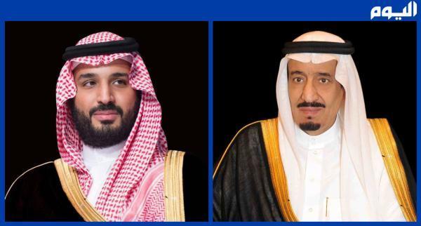القيادة تتلقى برقيتي تهنئة من ولي عهد البحرين بمناسبة اليوم الوطني