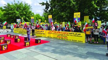 زعيمة المعارضة الإيرانية تدعو المجتمع الدولي للحزم مع الملالي
