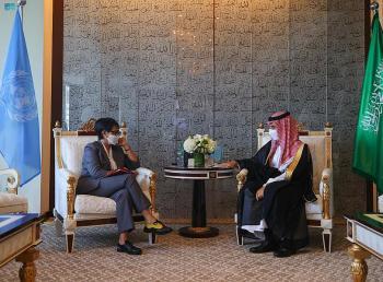 الأمير فيصل بن فرحان يناقش مع وزيرة خارجية إندونيسيا العلاقات الثنائية